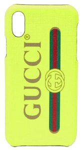 Gucci logo printed iPhone X case cover