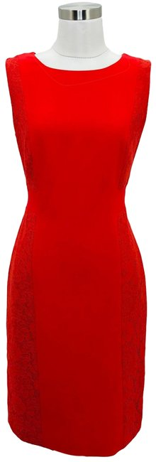 Preload https://img-static.tradesy.com/item/25703298/adrianna-papell-red-n780-small-floral-lace-career-a-line-short-workoffice-dress-size-6-s-0-1-650-650.jpg