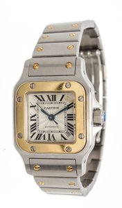 Cartier Cartier Stainless Steel Yellow Gold Galbee Rotonde Watch