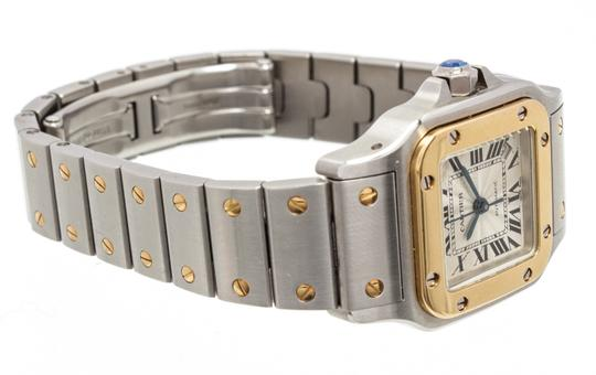 Cartier Cartier Stainless Steel Yellow Gold Galbee Rotonde Watch Image 3