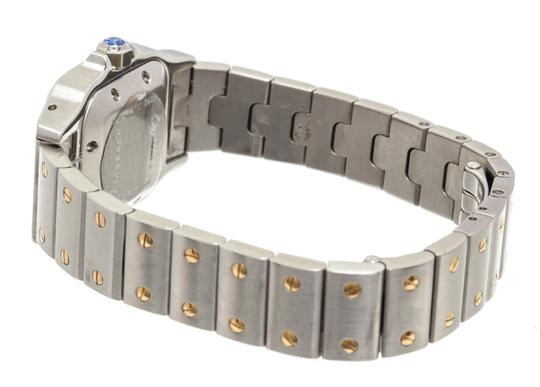 Cartier Cartier Stainless Steel Yellow Gold Galbee Rotonde Watch Image 4