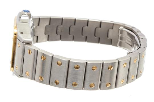 Cartier Cartier Stainless Steel Yellow Gold Galbee Rotonde Watch Image 5