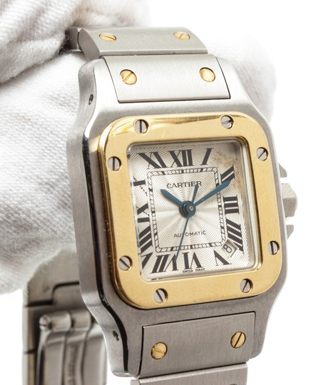 Cartier Cartier Stainless Steel Yellow Gold Galbee Rotonde Watch Image 7