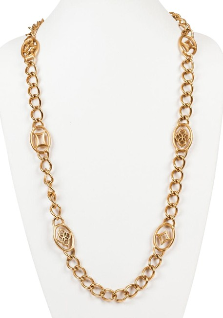 Item - Gold Yves Chain Flapper Necklace