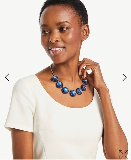 Ann Taylor Ann Taylor tiled statement necklace Image 2