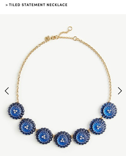 Ann Taylor Ann Taylor tiled statement necklace Image 5
