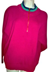 Eddie Bauer Vintage Quarter Zip Cotton Sweater