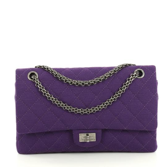 Preload https://img-static.tradesy.com/item/25703488/chanel-classic-flap-255-reissue-reissue-quilted-226-purple-jersey-shoulder-bag-0-0-540-540.jpg