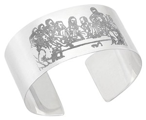 Apples of Gold LAST SUPPER CUFF BRACELET, STERLING SILVER