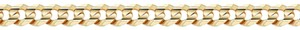 Apples of Gold 5MM CURB LINK BRACELET IN 14K YELLOW GOLD