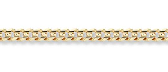 Apples of Gold 5MM CURB LINK BRACELET IN 14K YELLOW GOLD Image 2