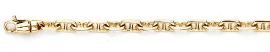 Apples of Gold ANCHOR CHAIN BRACELET IN 14K YELLOW GOLD Image 2