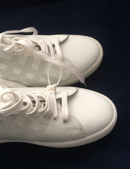 Burberry White Athletic Image 10