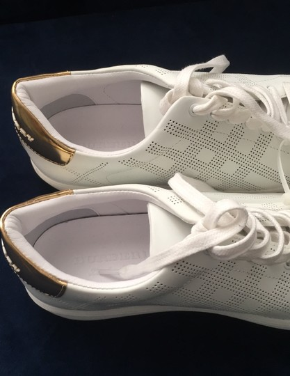 Burberry White Athletic Image 11