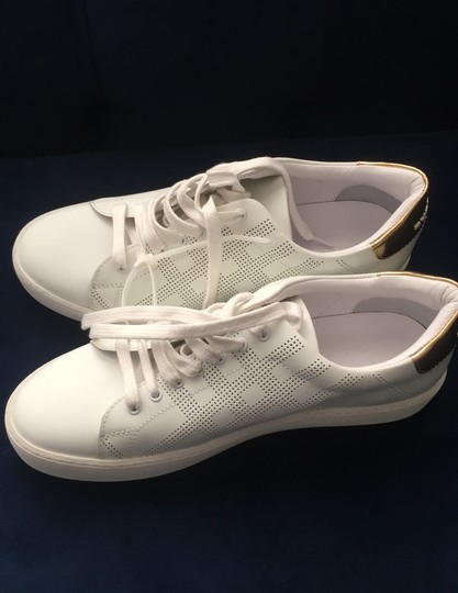 Burberry White Athletic Image 2