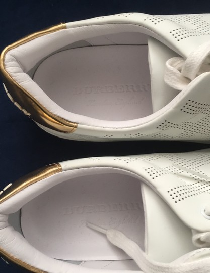 Burberry White Athletic Image 5