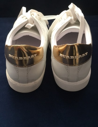 Burberry White Athletic Image 6