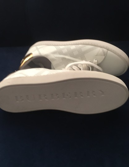 Burberry White Athletic Image 8
