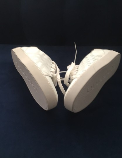 Burberry White Athletic Image 9