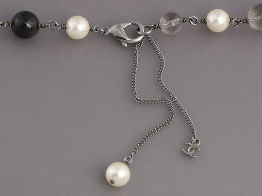 Chanel BEAD, PEARL, AND CRYSTAL LOGO LONG NECKLACE Image 3