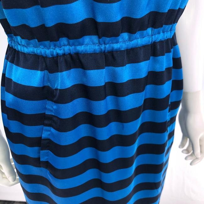 Vince Camuto Size 4 Blue Sleeveless Knee Length Dress Image 11