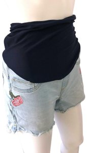 Angel Kiss Womens Denim Shorts-Medium Wash