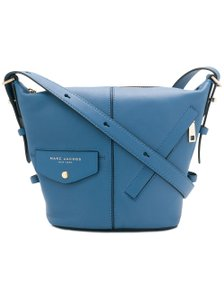 Marc Jacobs Sling The Sling Shoulder Hobo Small Black Smooth Leather Cross Body Bag