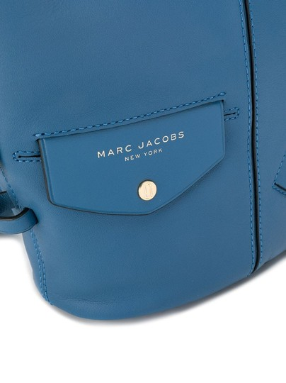 Marc Jacobs Sling The Sling Shoulder Hobo Small Black Smooth Leather Cross Body Bag Image 3