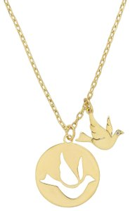 Kate Spade kate spade mom knows best bird pendant necklace