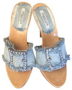 Caterina Lucchi Baby Blue Mules