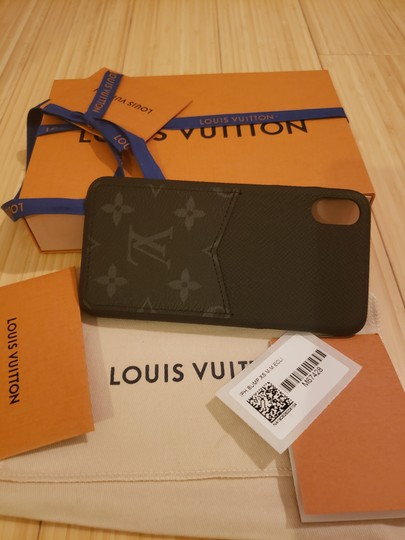 Louis Vuitton X MAX iPhone Bumper Black Monogram canvas Image 3