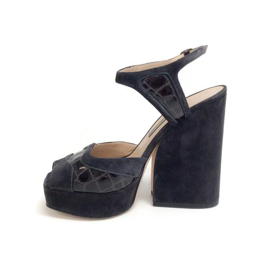 Zac Posen Dark Grey Sandals Image 2