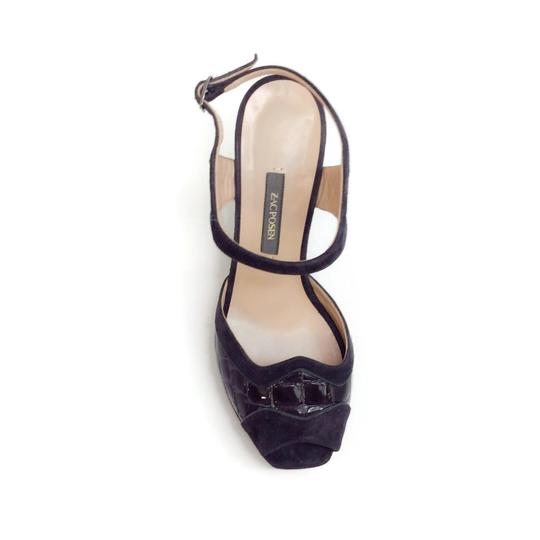 Zac Posen Dark Grey Sandals Image 3