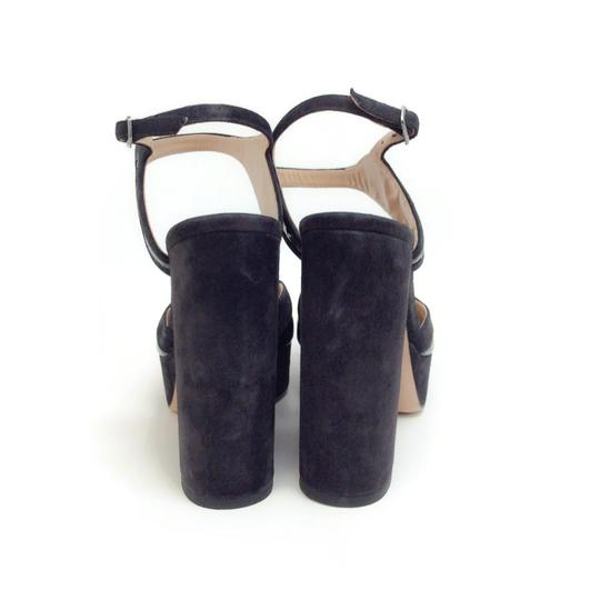 Zac Posen Dark Grey Sandals Image 7