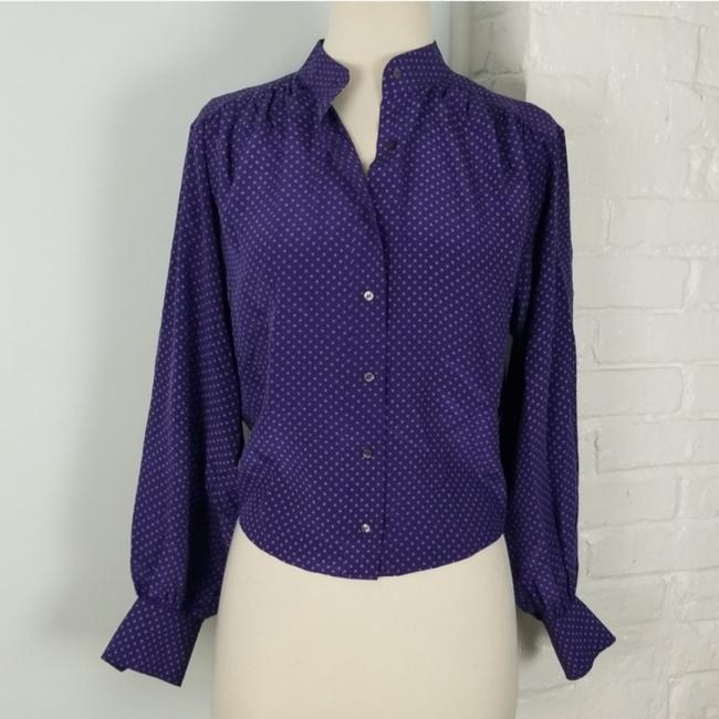 Club Monaco Top Purple & white Image 1