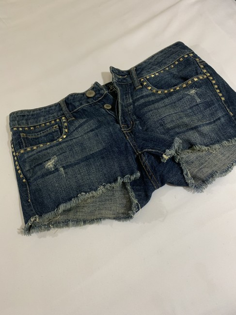 American Eagle Outfitters Cut Off Shorts Denim Image 2