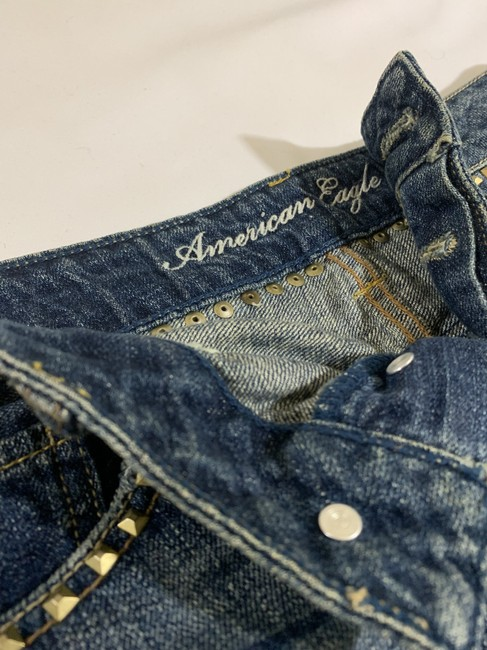 American Eagle Outfitters Cut Off Shorts Denim Image 3