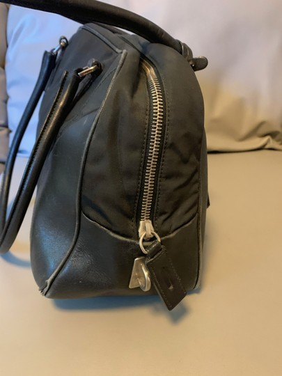 Prada Nylon Leather Shoulder Bag Image 1