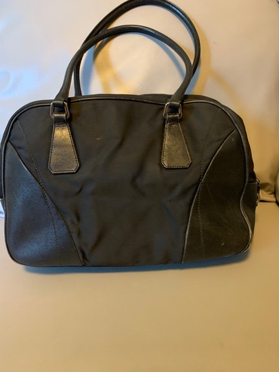 Prada Nylon Leather Shoulder Bag Image 2