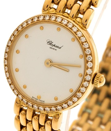Chopard White 18K Yellow Gold Classic 105911001 Women's Wristwatch 32 mm Image 1