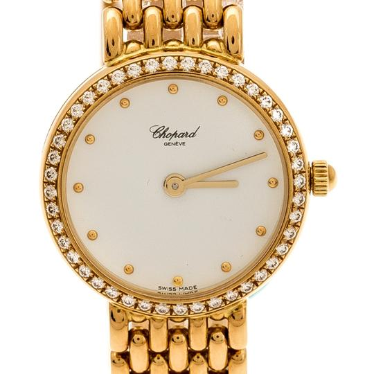 Chopard White 18K Yellow Gold Classic 105911001 Women's Wristwatch 32 mm Image 2