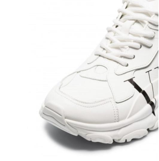 Valentino White Athletic Image 2