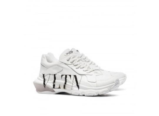 Valentino White Athletic Image 3