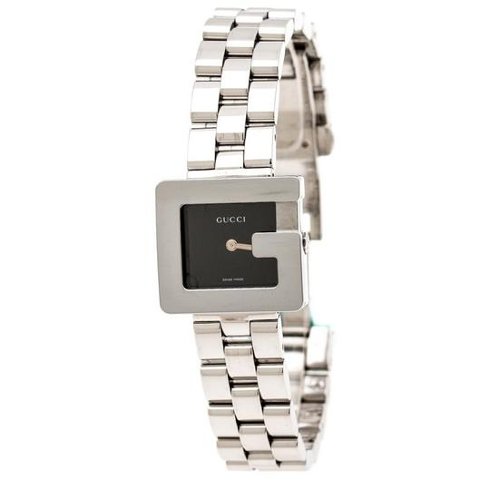 Preload https://img-static.tradesy.com/item/25703950/gucci-silver-black-stainless-steel-g-3600l-women-s-wristwatch-23-mm-watch-0-1-540-540.jpg