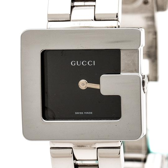 Gucci Black Stainless Steel G 3600L Women's Wristwatch 23 mm Image 1
