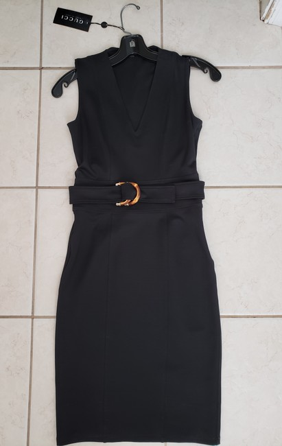 Gucci short dress black New on Tradesy