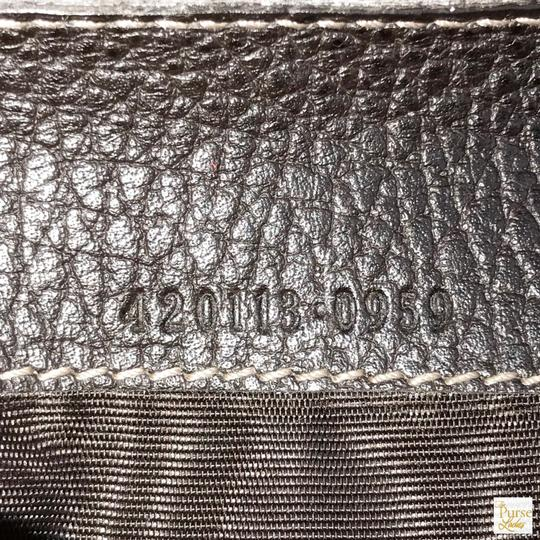 Gucci Gucci Brown Monogram GG Crystal Web Coated Canvas Zip Around Wallet Image 11