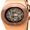 Etienne Aigner Brown Tone Stainless Steel Ravello A21000 Women's Wristwatch 43 mm Image 1