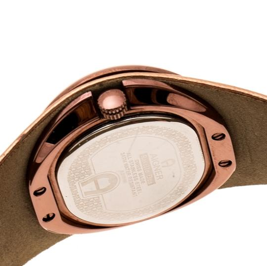 Etienne Aigner Brown Tone Stainless Steel Ravello A21000 Women's Wristwatch 43 mm Image 3