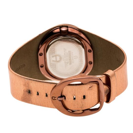 Etienne Aigner Brown Tone Stainless Steel Ravello A21000 Women's Wristwatch 43 mm Image 4
